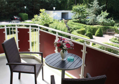 Balkon-Hotel